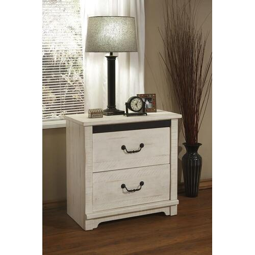 NIGHT STAND - Antique White