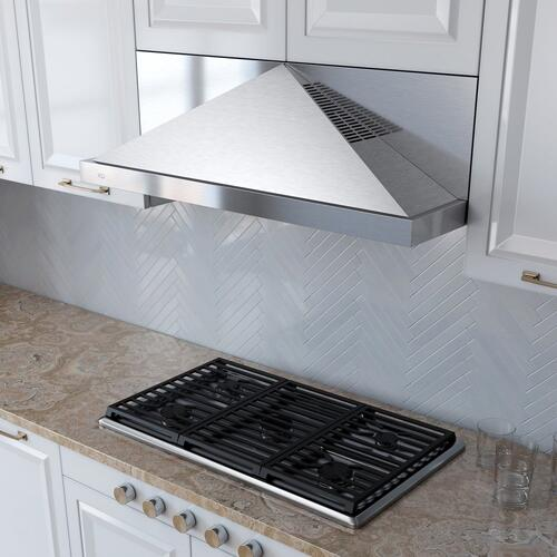 "***DISPLAY MODEL CLOSEOUT*** 600 CFM 30"" Under Cabinet Italian Made Pyramid Design Stainless"