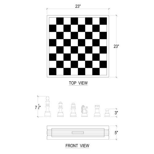 Chess Set Anna