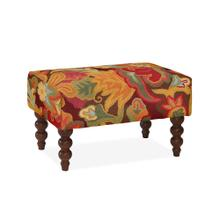 Rockport Small Rug Ottoman, TAPE-SPICE