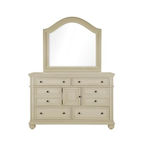 Chateau Dresser, French Bisque Finish