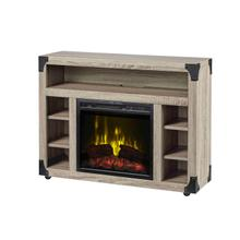 See Details - Dimplex Chelsea TV Stand Electric Fireplace, Distressed Oak