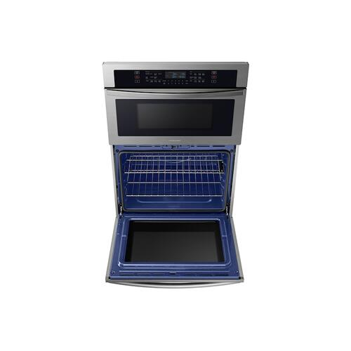 "30"" Microwave Combination Wall Oven with Wi-Fi in Stainless Steel"