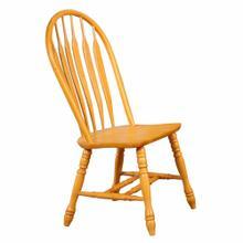 See Details - Comfort Back Dining Chair - Light Oak (Set of 2)