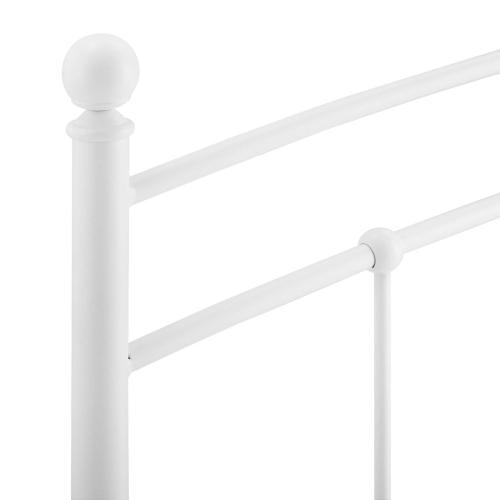 Modway - Abigail Twin Metal Headboard in White