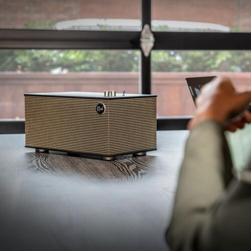The Three II - Best Wireless Shelf Stereo - Walnut