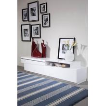 Modrest Cassie Modern White TV Stand