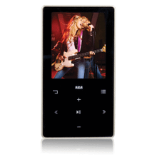 4GB MP3 and video player with 2-inch display