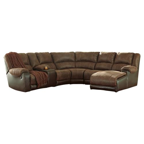 Product Image - Nantahala 6-piece Reclining Sectional With Chaise