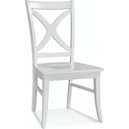 Braxton Culler Inc - Hues Side Dining Chair with Wood Seat