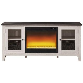 """See Details - Dorrinson 60"""" TV Stand With Electric Fireplace"""