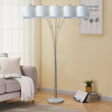 See Details - 2834 5-Headed Floor Lamp