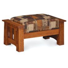See Details - McCoy Ottoman, Fabric Cushions