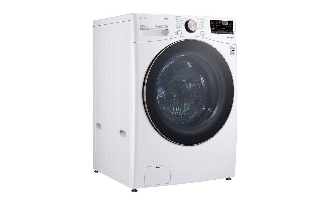 4.5 cu. ft. Ultra Large Capacity Smart wi-fi Enabled Front Load Washer with TurboWash™ 360(degree) and Built-In Intelligence Photo #4