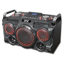 "6.25"" Portable Rugged Party Speaker With Disco Lights"