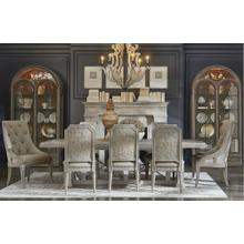 See Details - Arch Salvage Pearce Dining Room Set: Table with 4 Side Chairs and 2 Host Chairs