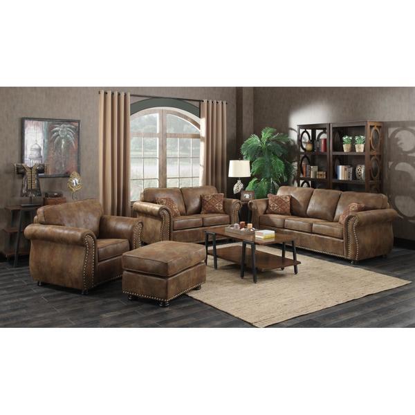 See Details - Elk River Sofa, Loveseat, Chair & Ottoman, U9705A