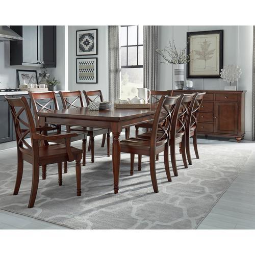Aspen Furniture - Dbl X Arm Chair(2/Ctn)
