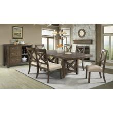 See Details - Franklin Dining Set - Table and 6 Chairs
