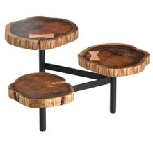 Anika Tripod Coffee Table in Natural