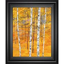 """Iridescent Trees IV"" By Alex Jawdokimov Framed Print Wall Art"