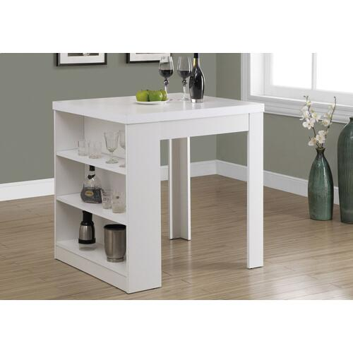 """Gallery - DINING TABLE - 32""""X 36"""" / WHITE COUNTER HEIGHT"""