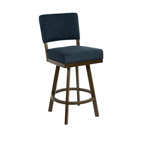Wesley Allen - Miami B505H26S Swivel Back No Arms Bar Stool