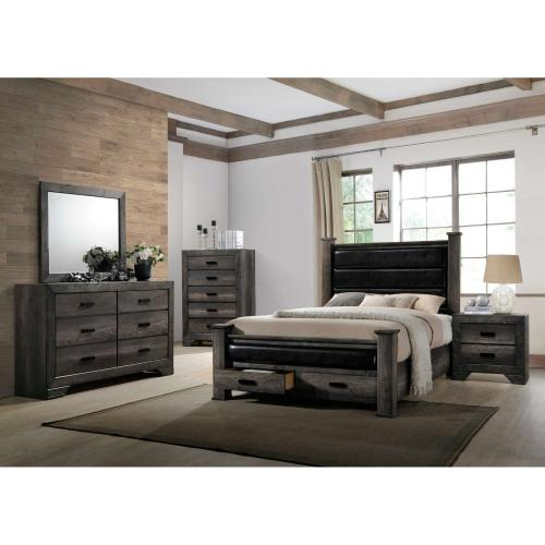 Nathan King Storage Poster Bed