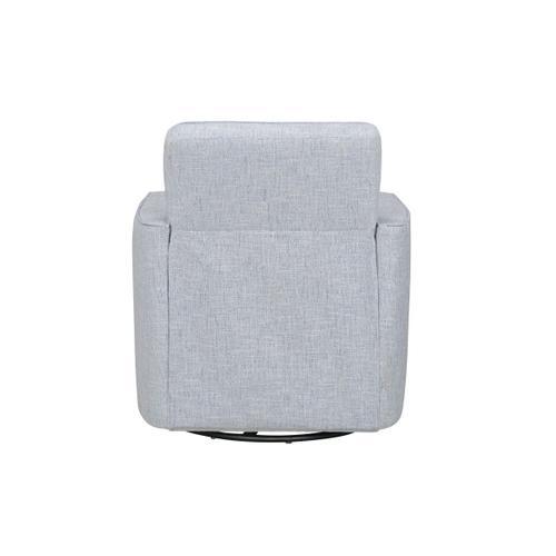 Gallery - Ellison Upholstered Swivel Accent Chair, Light