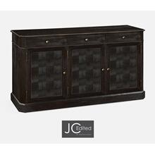 "68"" Dark Ale Three Door Sideboard"