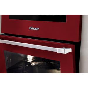 "Dacor30"" Induction Pro Range, Haute Red, Natural Gas"