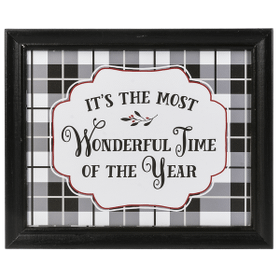 It's the most wonderful time of the year Plaque