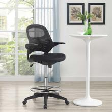 Stealth Drafting Chair in Black
