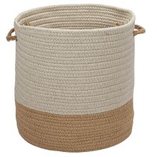 "Sunbrella Coastal Basket AS89 Wheat 11"" X 7"""