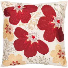 Victorian Pillow - Red / Yellow