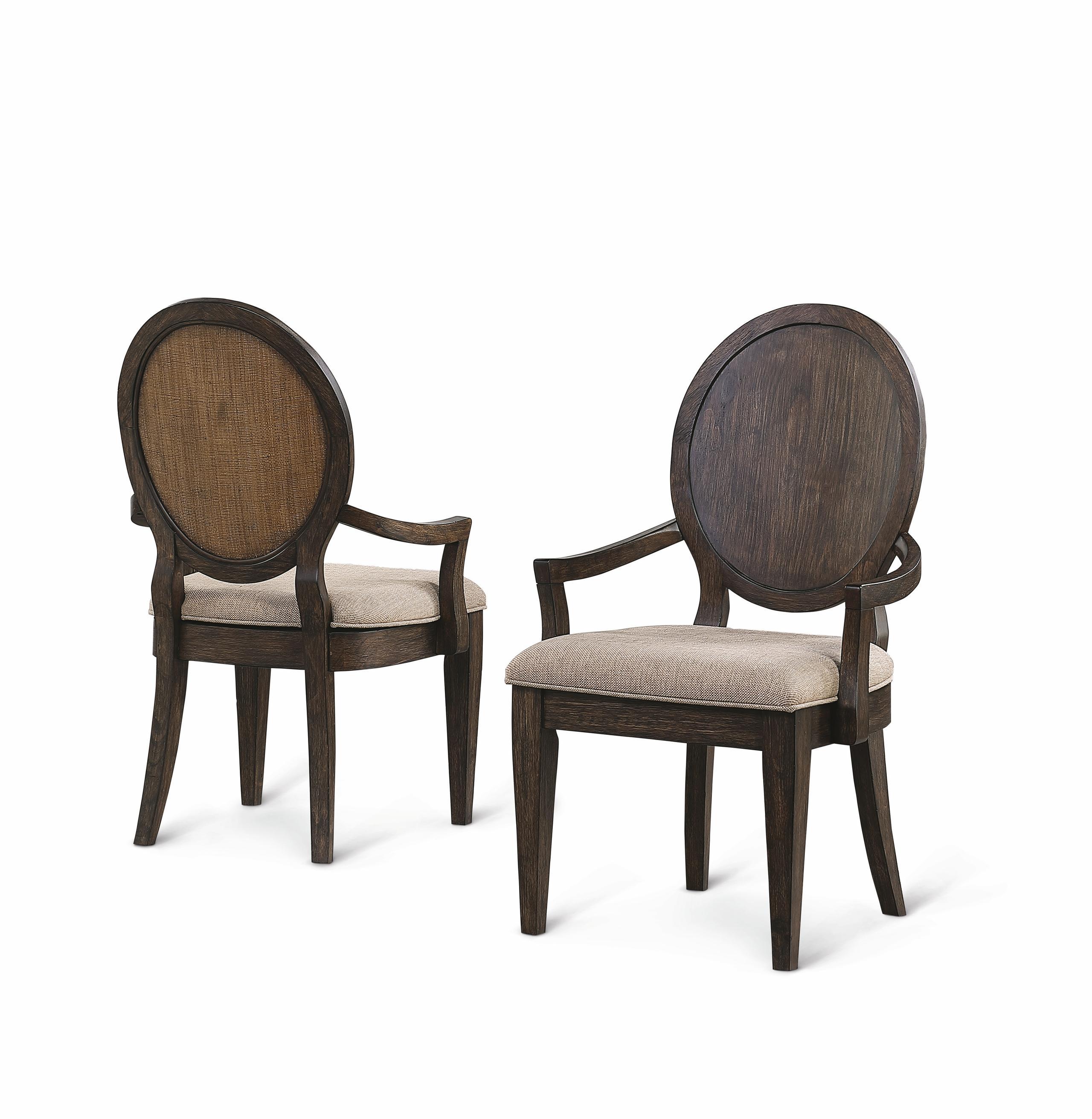 FlexsteelWakefield Upholstered Arm Dining Chair