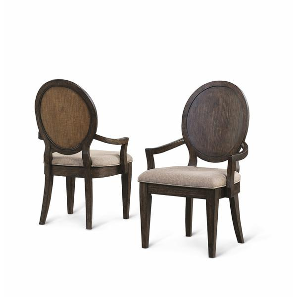 See Details - Wakefield Upholstered Arm Dining Chair