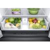 Samsung 23 Cu. Ft. Counter Depth 4-Door French Door Refrigerator In Black Stainless Steel