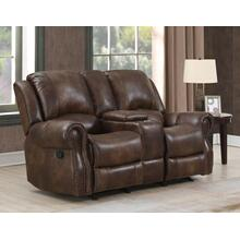 Navarro Manual Recliner Console Loveseat
