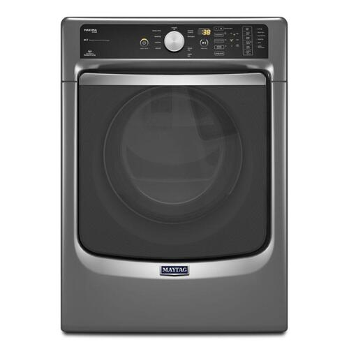Gallery - Maxima® Steam Electric Dryer with Large Capacity and Stainless Steel Dryer Drum - 7.3 cu. ft.