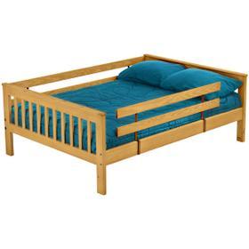 Queen upper bed, extra-long