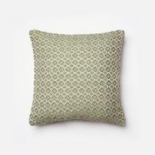 Green / Beige Pillow