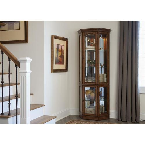 Liberty Furniture Industries - 5 Side Curio Top
