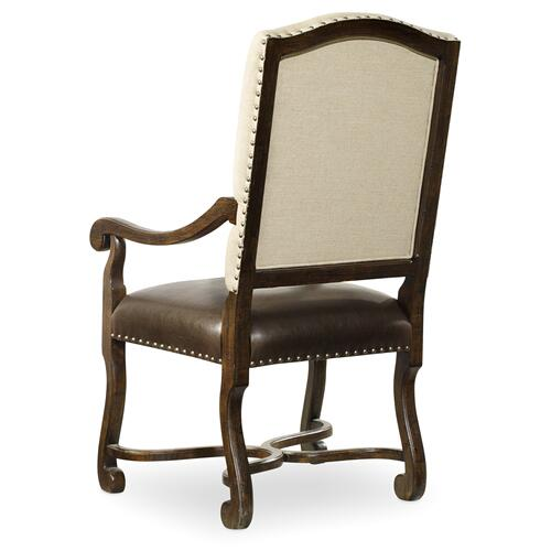 Treviso Camelback Arm Chair - 2 per carton/price ea