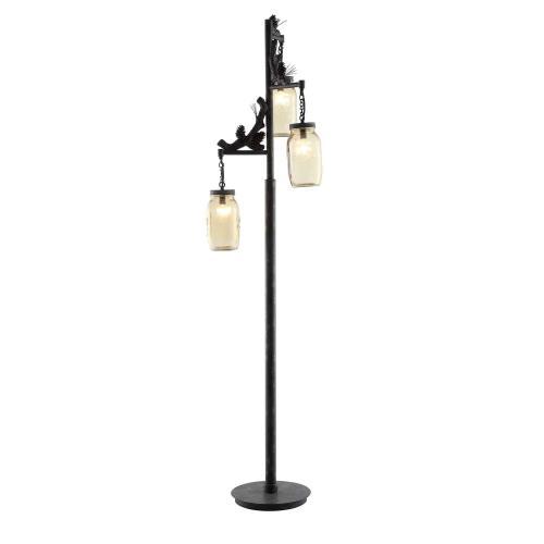 Fire Catcher Floor Lamp