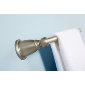 """Brantford brushed nickel 24"""" towel bar"""