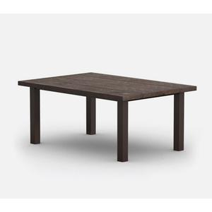 "42"" x 62"" Rectangular Dining Table (with Hole) Ht: 27.75"" Post Aluminum Base (Model # Includes Both Top & Base)"