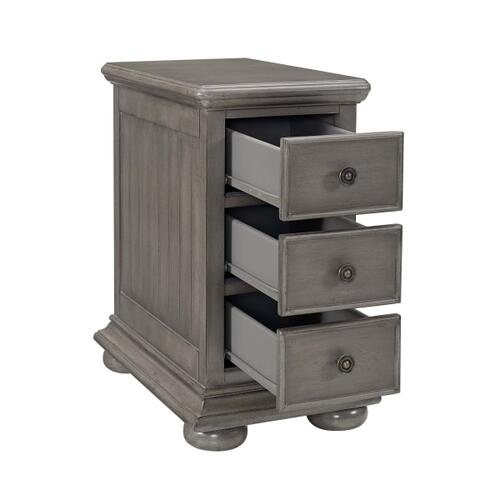 Chairside Chest - Grey