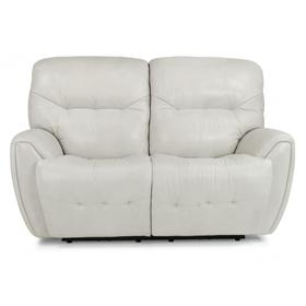 Blaise Power Reclining Loveseat with Power Headrests