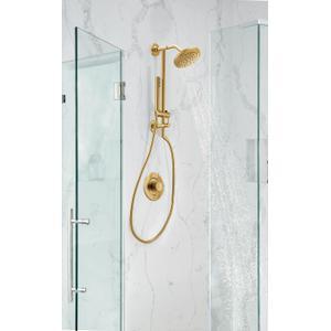 Align brushed gold posi-temp® valve trim